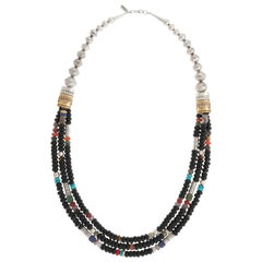 Fabulous Navajo Multi-Strand Necklace by Tommy Singer