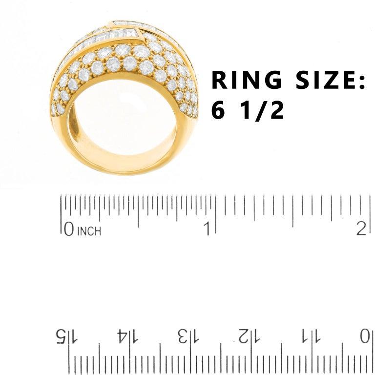 Fabulous VCA Diamond Set 1970s Ring For Sale 2