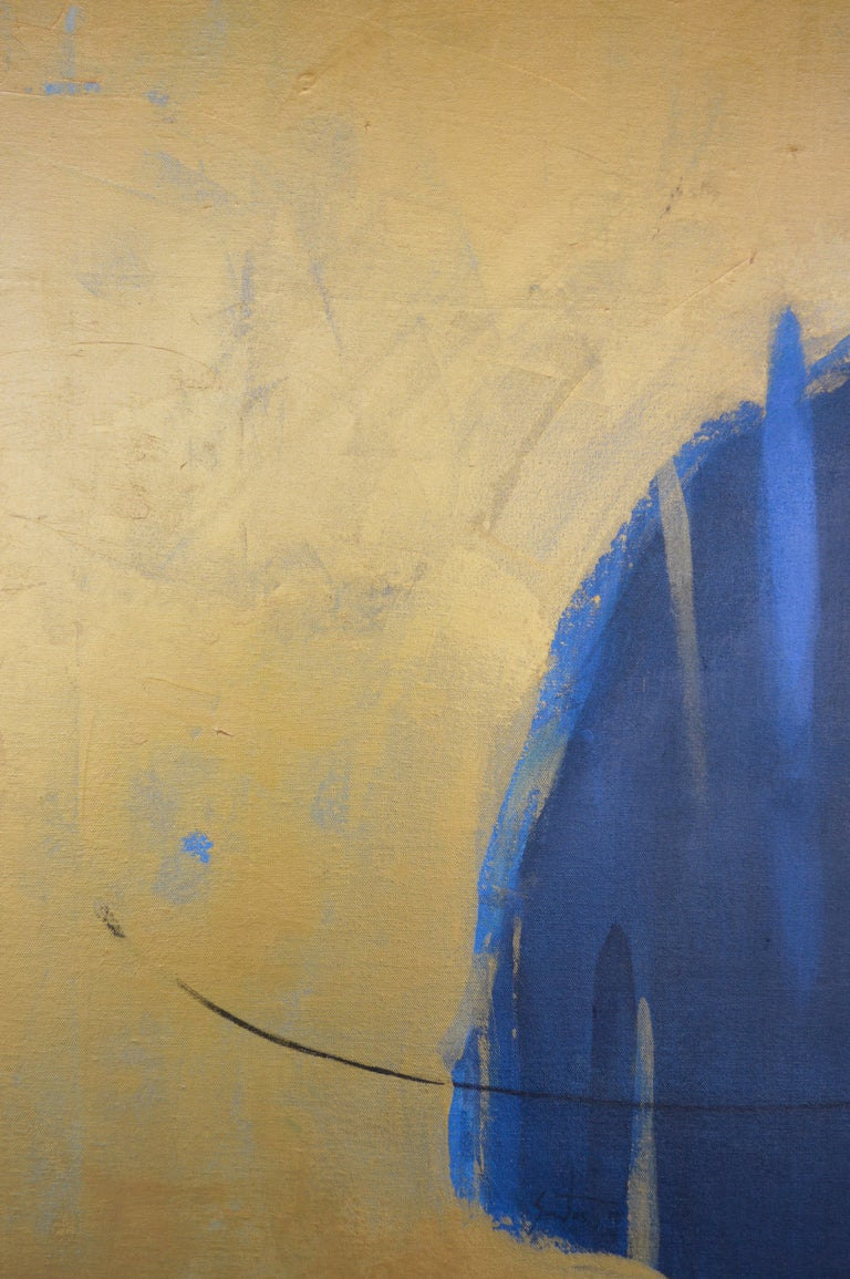 Face in Blue by Jorge Santos In New Condition For Sale In Los Angeles, CA
