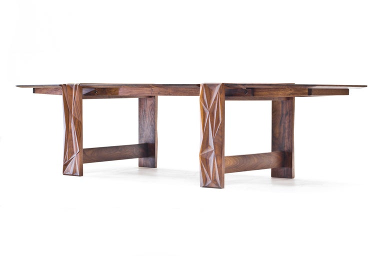 American Facet Coffee Table in Oiled Walnut by Davin Larkin for Wooda For Sale