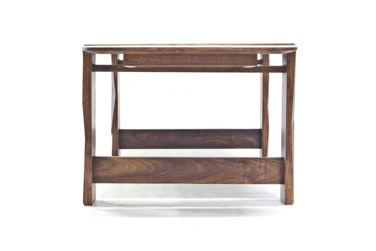 Woodwork Facet Coffee Table in Oiled Walnut by Davin Larkin for Wooda For Sale
