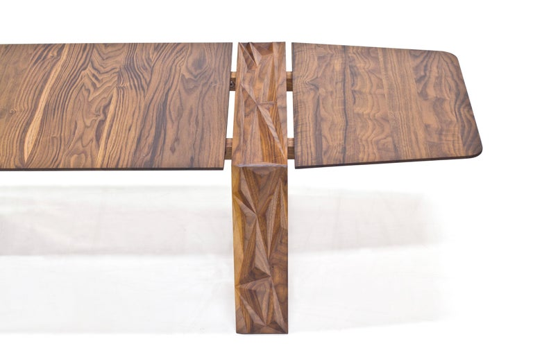 Hardwood Facet Coffee Table in Oiled Walnut by Davin Larkin for Wooda For Sale