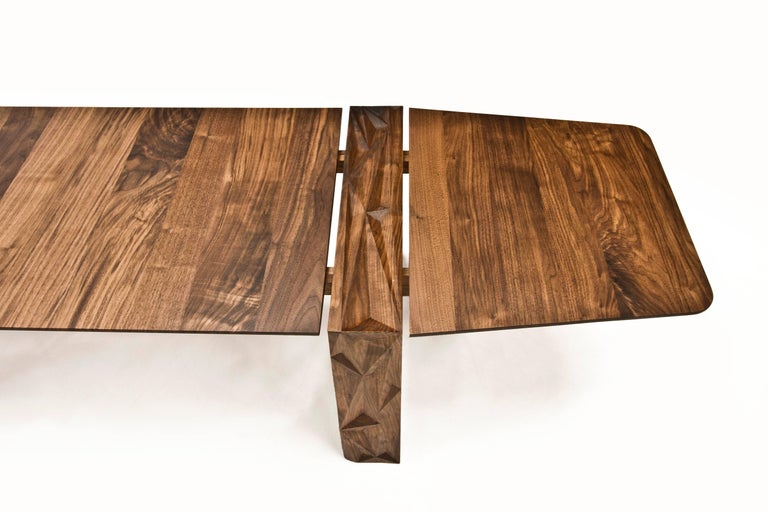 Facet Dining Table in Oiled Walnut by Davin Larkin for Wooda For Sale 1