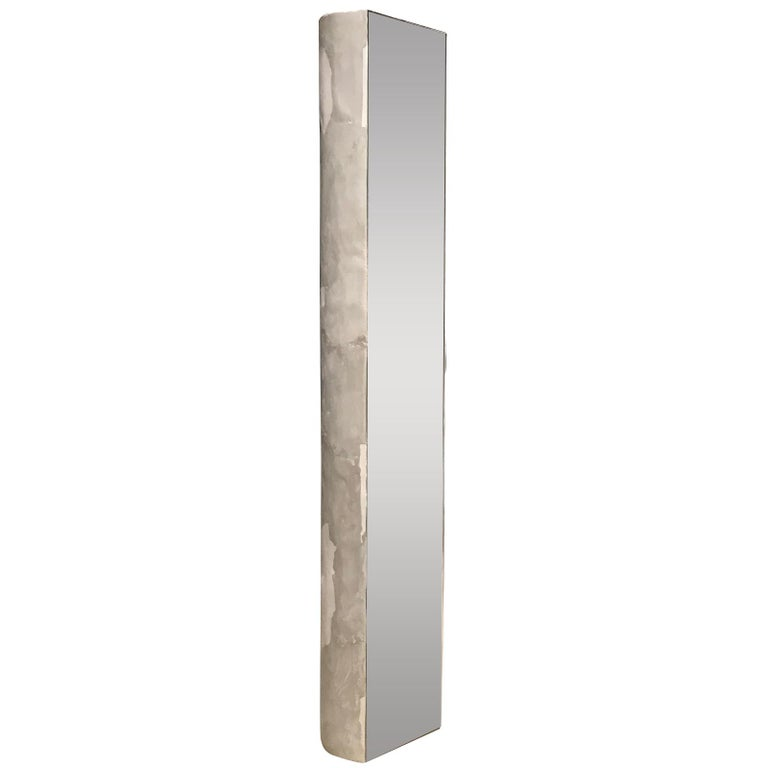 Facet Floor Mirror by Bailey Fontaine Studio For Sale