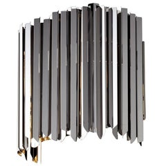 Facet Metal Wall Sconce, Quickship