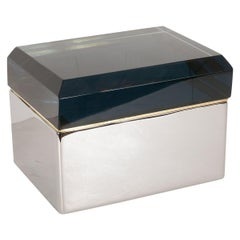 Faceted Murano Glass Box