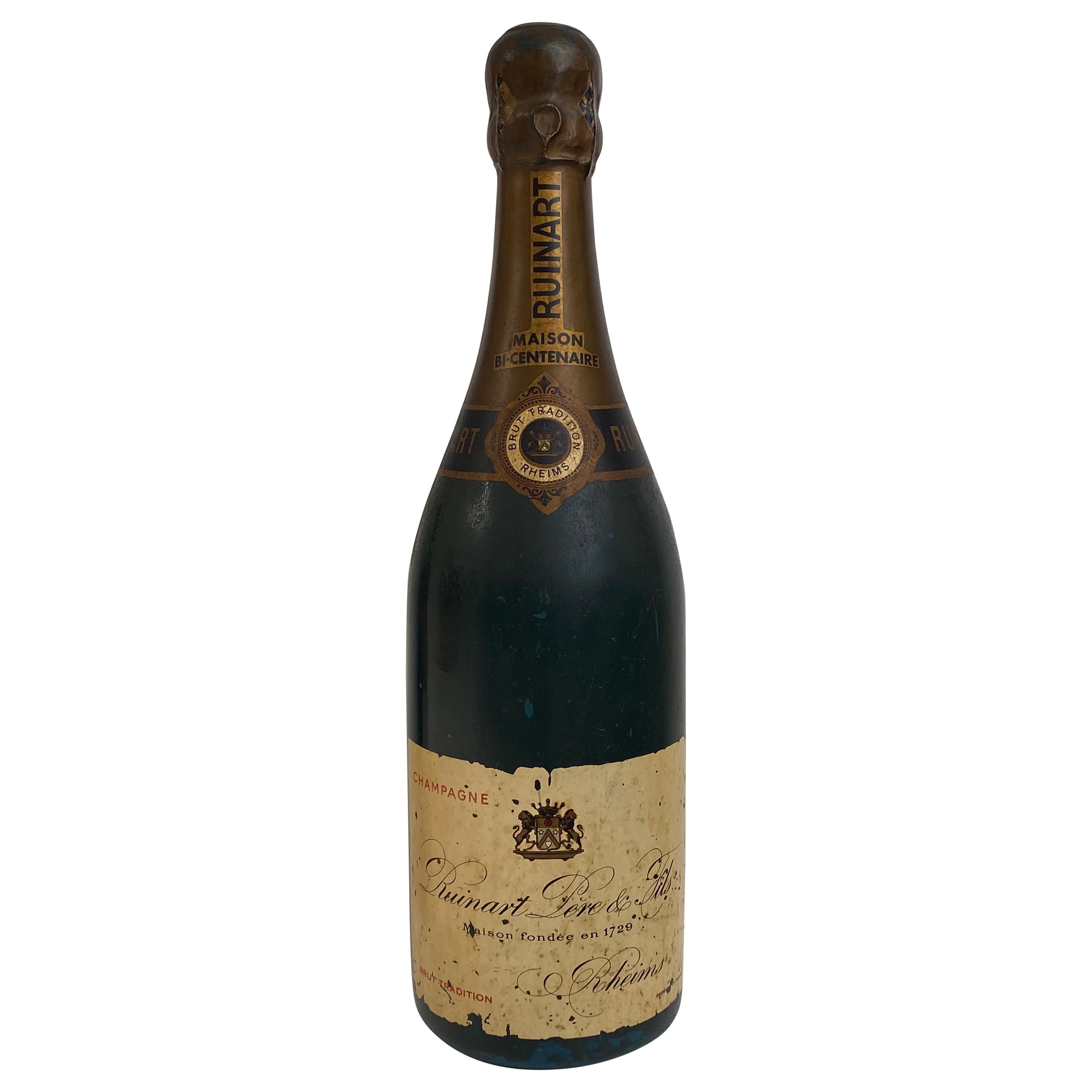 Factice of a Bottle of Champagne, Ruinart