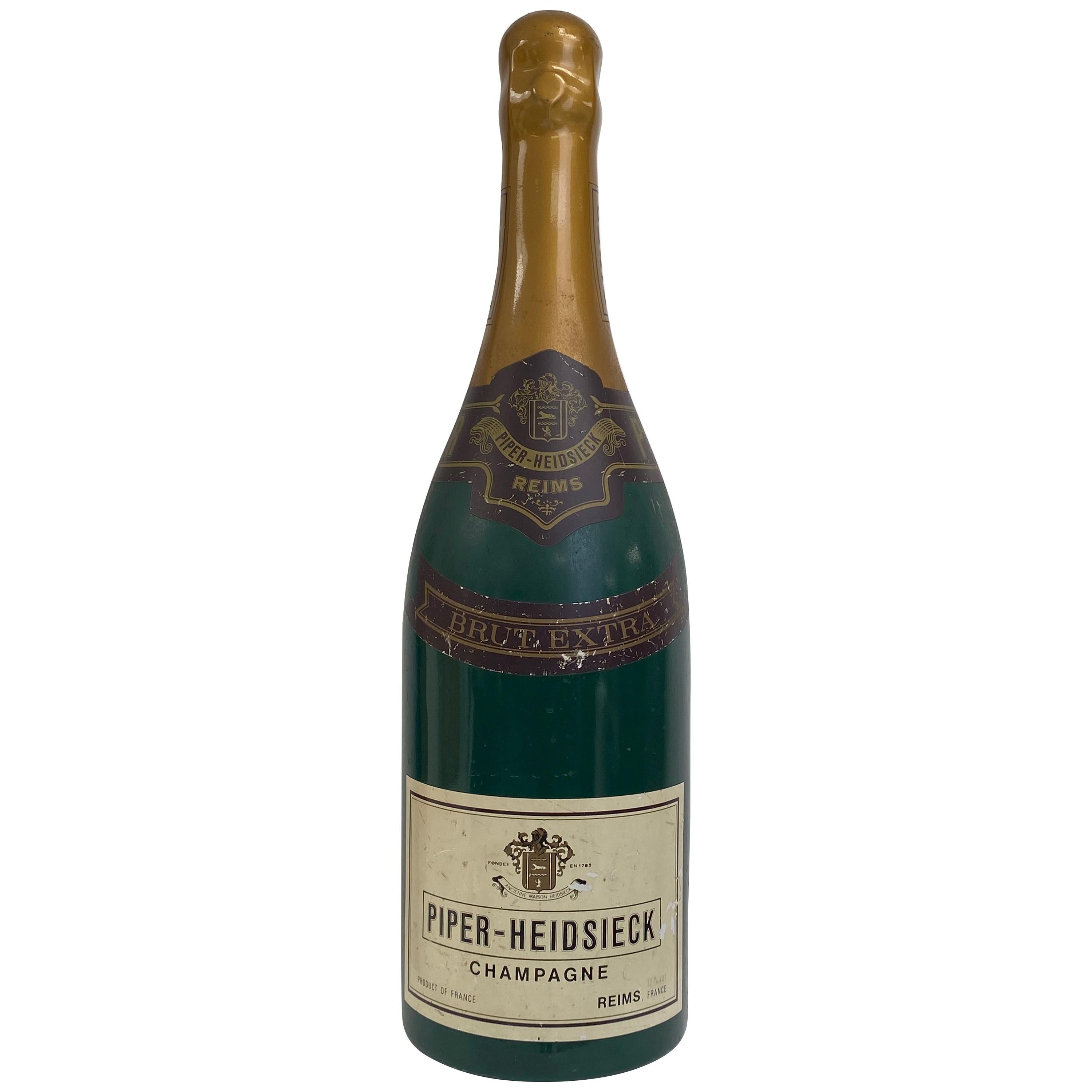 Factice of Bottle of Champagne, Piper Heidsieck