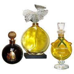 Factice Perfume Guerlain Lanvin Store Display Bottles