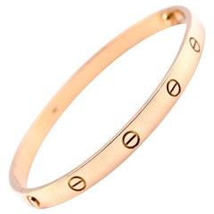 Factory Cartier Love Bracelet 18 Karat Yellow Gold