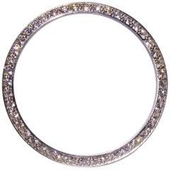 Factory Rolex Platinum Diamond Bezel 1804 President or Vintage Datejust Watch
