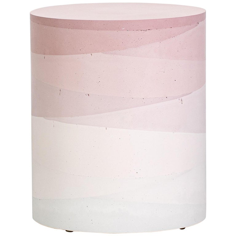 Fade Drum, Blush Cement by Fernando Mastrangelo, 1stDibs New York For Sale