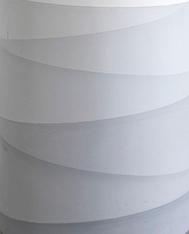 Cast Fade Drum, Grey Cement by Fernando Mastrangelo, 1stDibs, New York For Sale