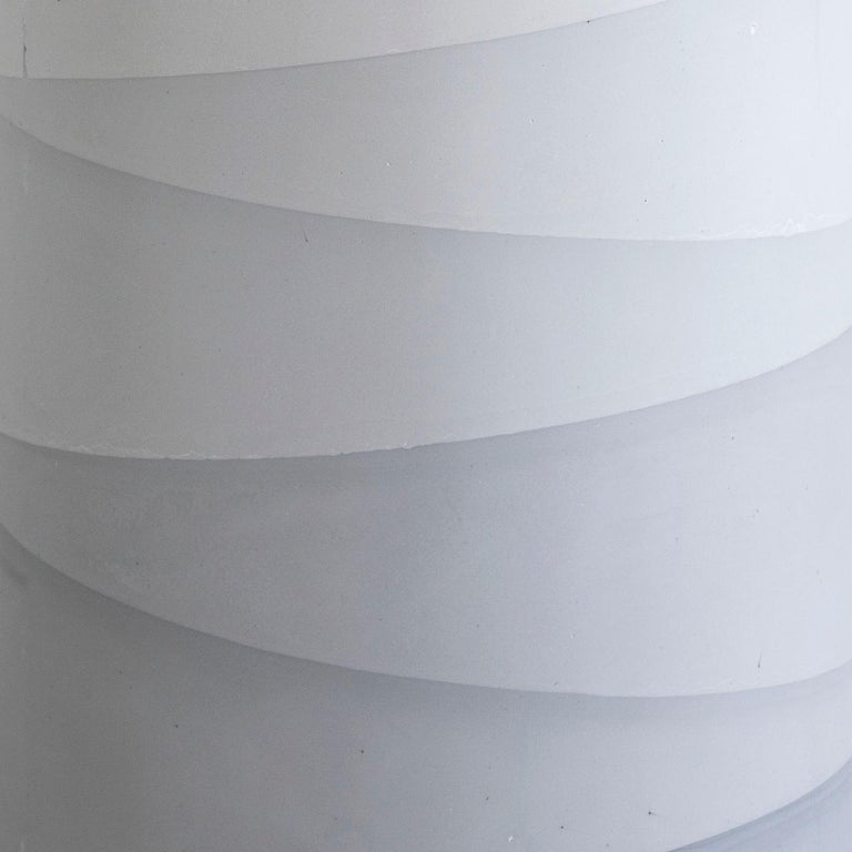 Fade Drum, Grey Cement by Fernando Mastrangelo, 1stDibs, New York In New Condition For Sale In Brooklyn, NY