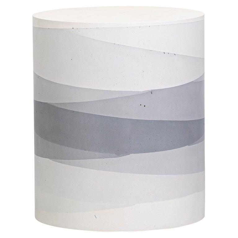Fade Drum, Grey Cement by Fernando Mastrangelo, 1stDibs, New York For Sale