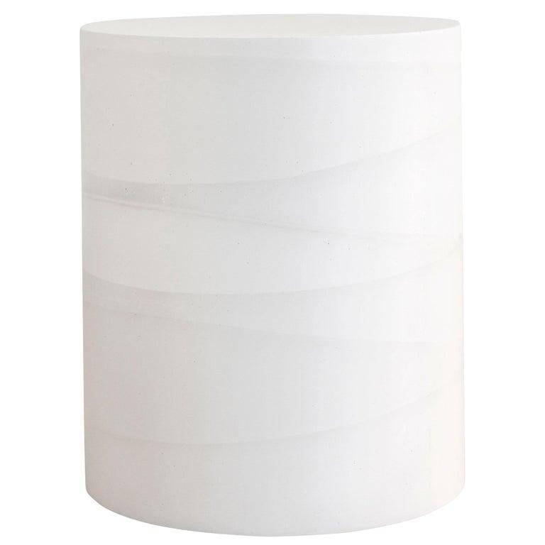 Fade Drum, White Cement by Fernando Mastrangelo, 1stDibs New York For Sale