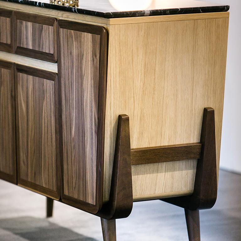 This elegant and unique crafted Credenza, from the