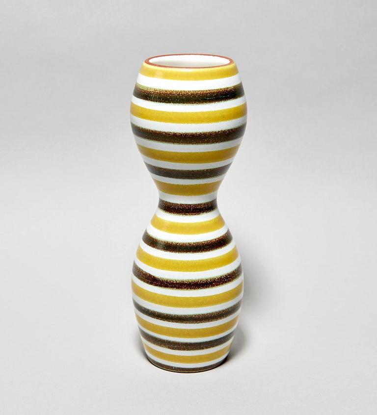 Faïence Vase by Stig Lindberg For Sale 2