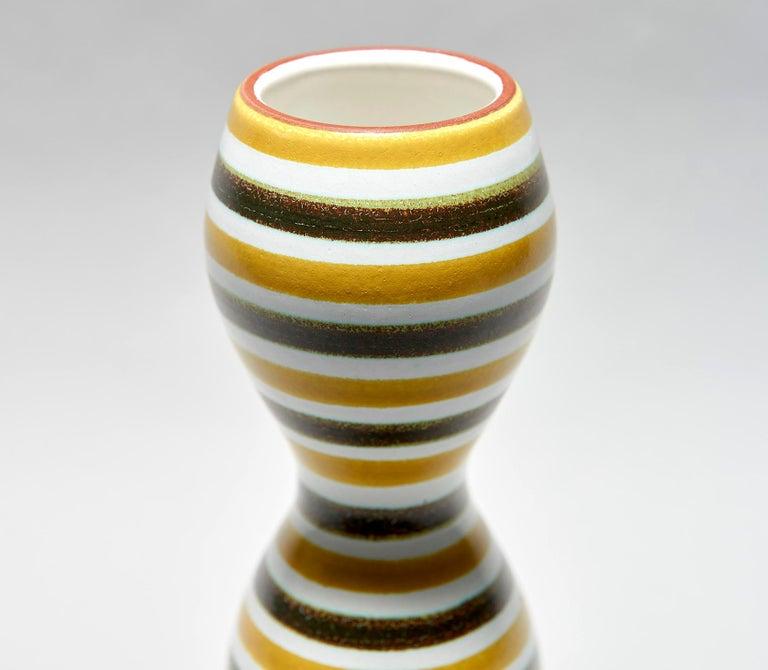 Swedish Faïence Vase by Stig Lindberg For Sale
