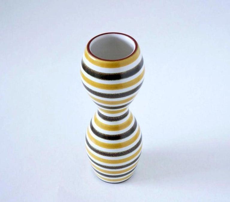 Mid-20th Century Faïence Vase by Stig Lindberg For Sale