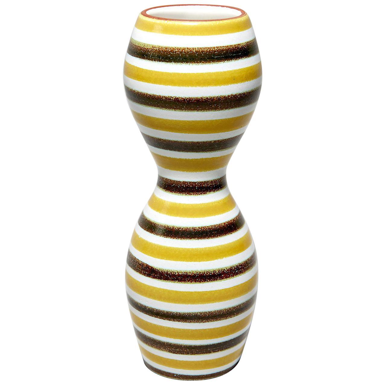 Faïence Vase by Stig Lindberg