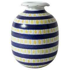 Faience Vase by Stig Lindberg