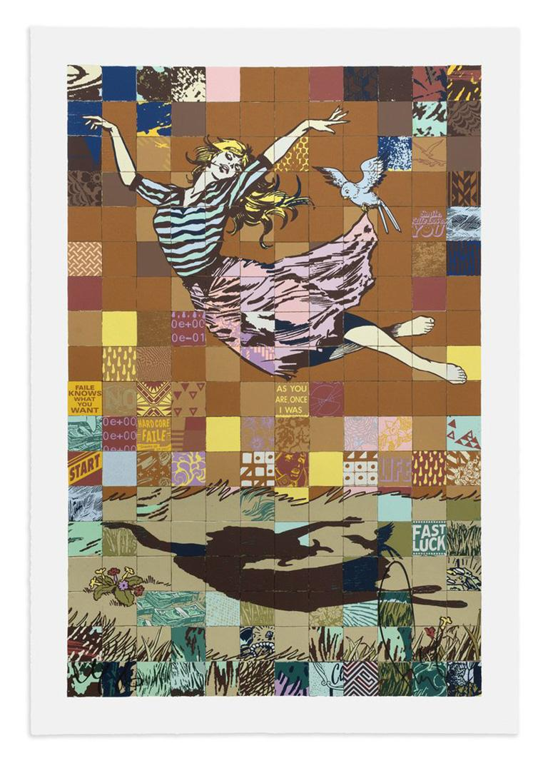 FAILE: Falling For FAILE - Huge Screen print signed/numbered Pop Art, Street art 1