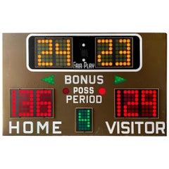 Fair Play 1970s Basketball Scoreboard