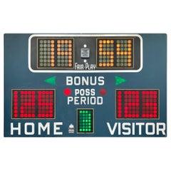 Fair Play 1970s Basketball Scoreboards
