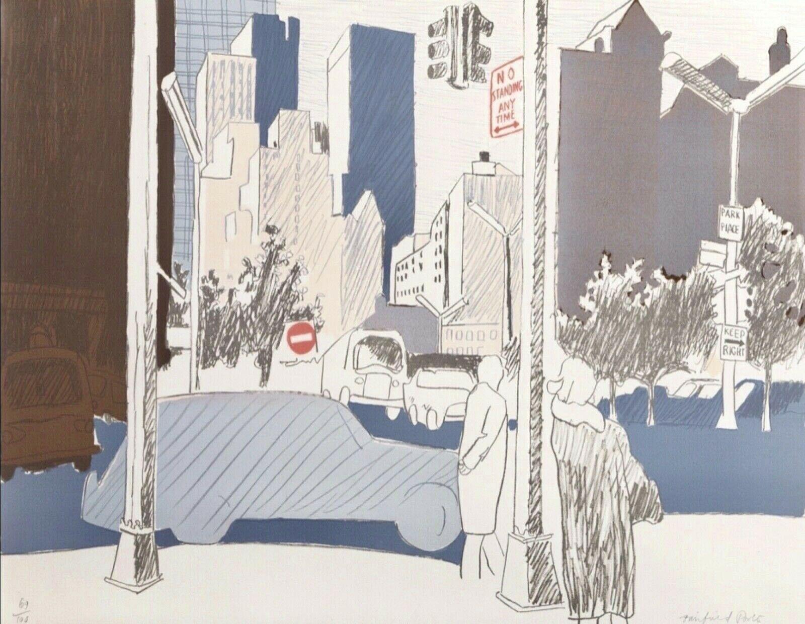 New York City Street Scene (L.18)