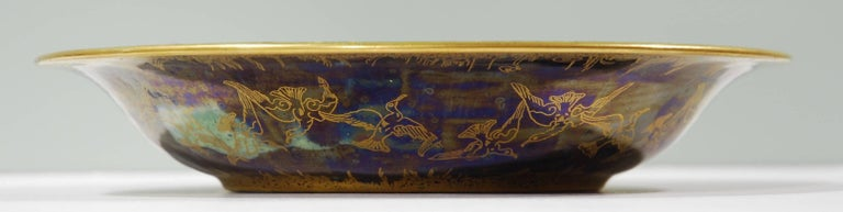 In Fairyland Lustre, a lily tray in a small size. 