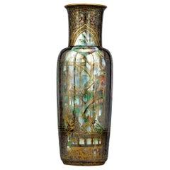 Fairyland Lustre Pillar Vase by Wedgwood