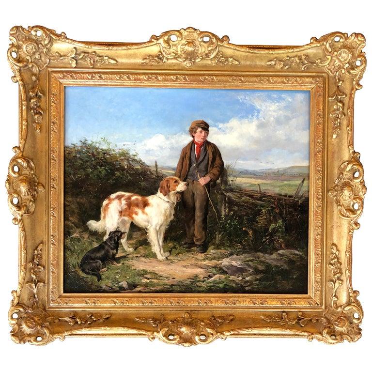 """""""Faithful Companions"""" by Heywood Hardy For Sale"""