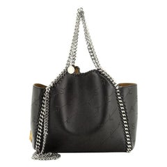 Falabella Reversible Tote Perforated Faux Leather Mini