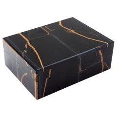 Falcon's Eye Semi-Precious Stone Box