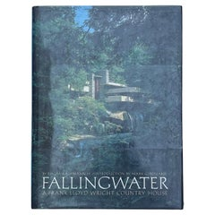 Fallingwater, A Frank lloyd Wright Country House, Edgar K. Kaufmann, 1986