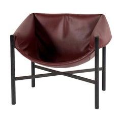 Falstaff Leather Armchair, by Stefan Diez from Dante