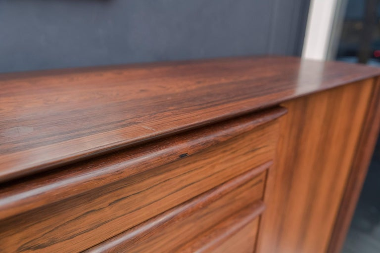 Falster Rosewood Tall Dresser For Sale 3
