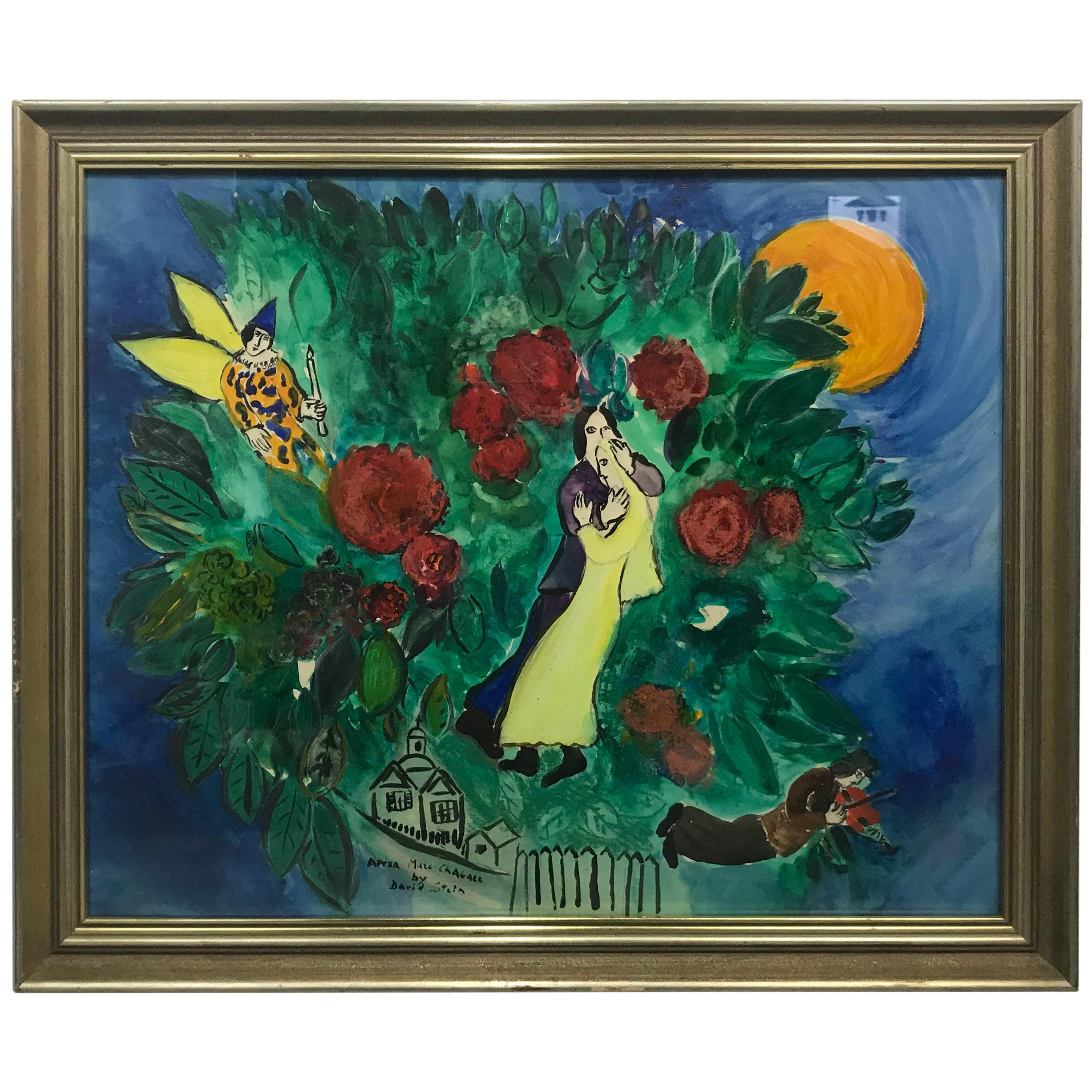 Famed Forgery Artist David Stein, Tribute to Marc Chagall