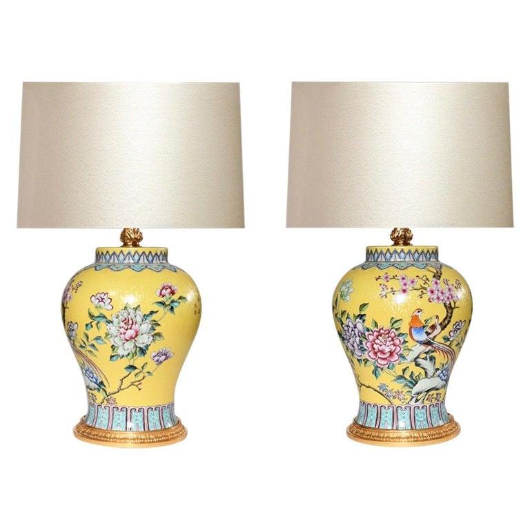 Familie Verta Porcelain Lamps For Sale