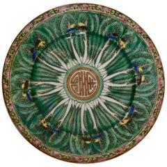 Famille Verte Chinese Porcelain Plate