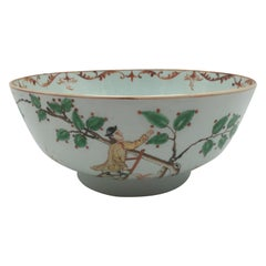 Famille Verte Punch Bowl Kangxi Period, circa 1700