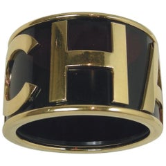Famous Vintage Signed Chanel Cuff Bracelet