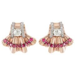 1930s Clip-on Earrings