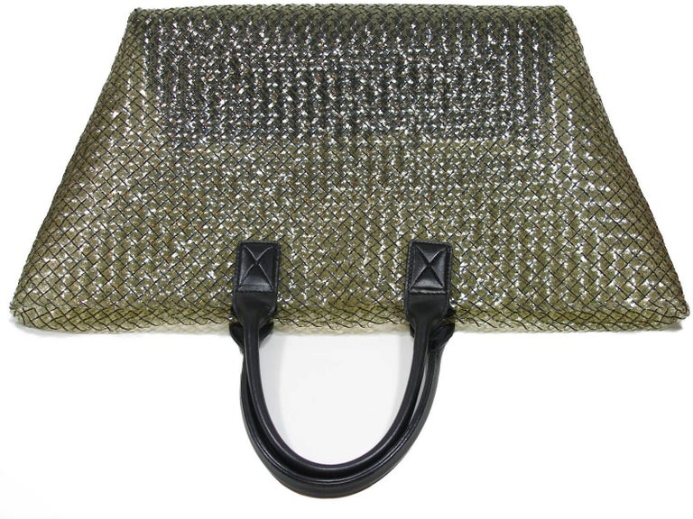 FAN-TAS-TIC Edition Limited Bottega Veneta Crystal Tote Bag GM Size / Year 2012  For Sale 6
