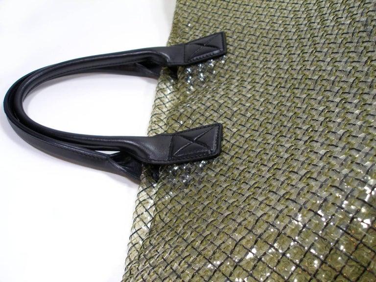 FAN-TAS-TIC Edition Limited Bottega Veneta Crystal Tote Bag GM Size / Year 2012  For Sale 7