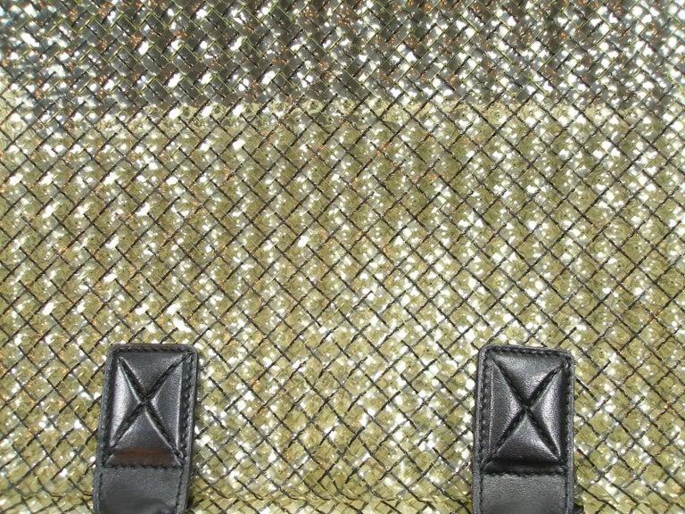 FAN-TAS-TIC Edition Limited Bottega Veneta Crystal Tote Bag GM Size / Year 2012  For Sale 4