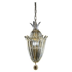 Fanali Veneziani 4430 Suspension Lamp in Glass, by Barovier&Toso