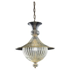 Fanali Veneziani 5381 Suspension Lamp in Glass, by Barovier & Toso