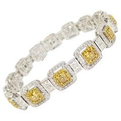 Fancy Color Diamond Bracelet